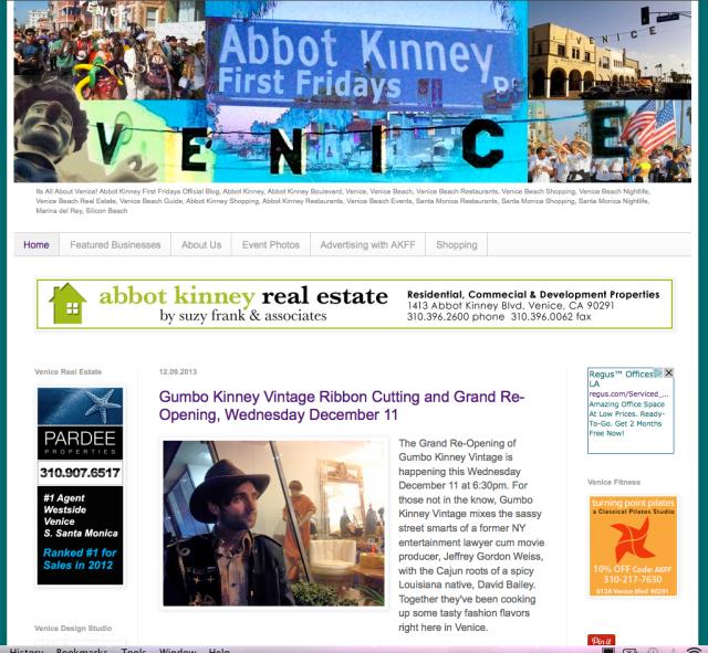 Abbot KinneyFF.com